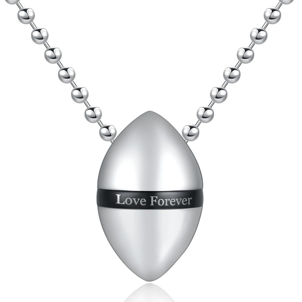 High Quality Vintage Perfume Bottle Drop Necklace & Pendants For Men / Women 4 Colors Stainless Steel Punk Rock HipHop Jewelry