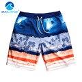 Gailang Hombres de la Marca de Moda Para Hombre Pantalones Cortos de Playa Bermudas Troncos Boardshorts de Secado Rápido Ocasionales de Los Hombres de los Trajes de Baño