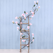 Artificial Flower Plant Magnolia Vine Silk Fake Wedding Decoration