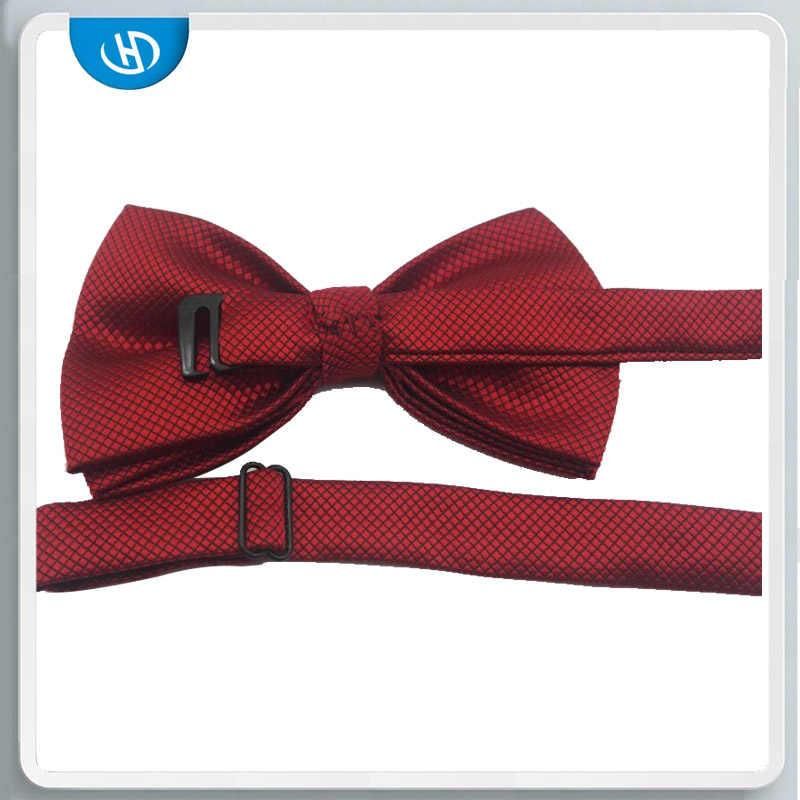 Uomini Bowtie Per Mens Bow tie Solid Papillon Papillon Nero Oro Legame di Arco Rosso Verde Rosa Blu Bianco Papillon uomo Classic