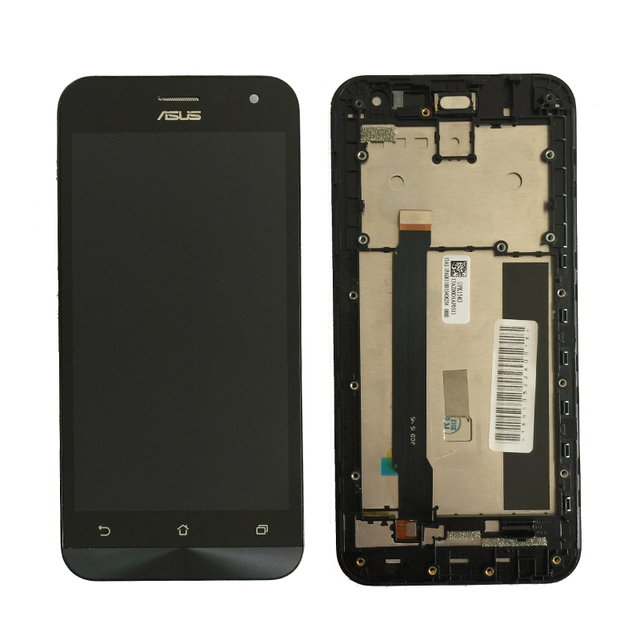 Original For Asus Zenfone 2 ZE500CL Z00D LCD Display with Touch Screen Digitizer Assembly with frame Black free shipping