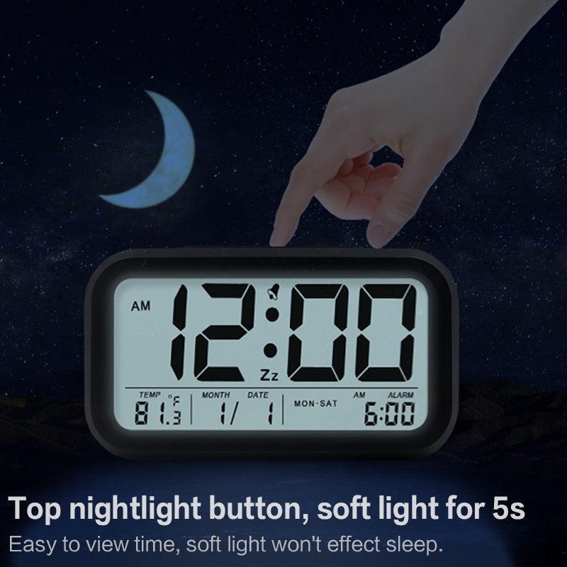 Digital Table Alarm Clock 1