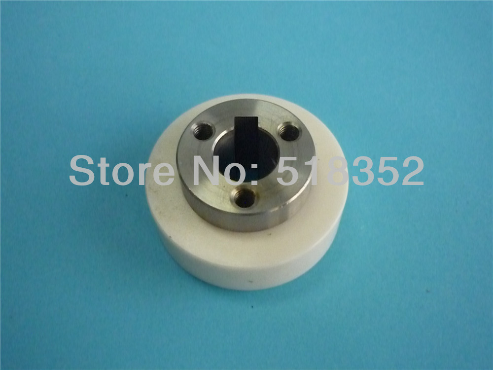 A290-8110-Z383 F402 Fanuc Feed Roller Ceramic 40x12xT19mm for WEDM-LS Wire Cutting Wear Parts a290 8110 x715 16 17 fanuc f113 diamond wire guide d 0 205 255 305mm for dwc a b c ia ib ic awt wedm ls machine spare parts