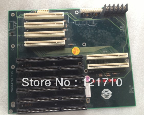 цена Industrial PCI-10S PICMG 1.0, 10 slot backplane with 4 x PCI slots, 2 x ISA slots, 4 x PICMG 1.0 slots, and AT or ATX power