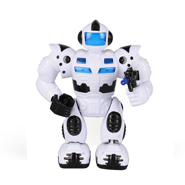 Cartoon Robot Toy : Children s educational toys space robot toy cartoon music