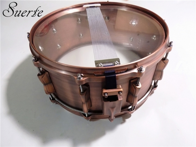 "Professional 14""*6.5"" Copper Snare Drum 1"
