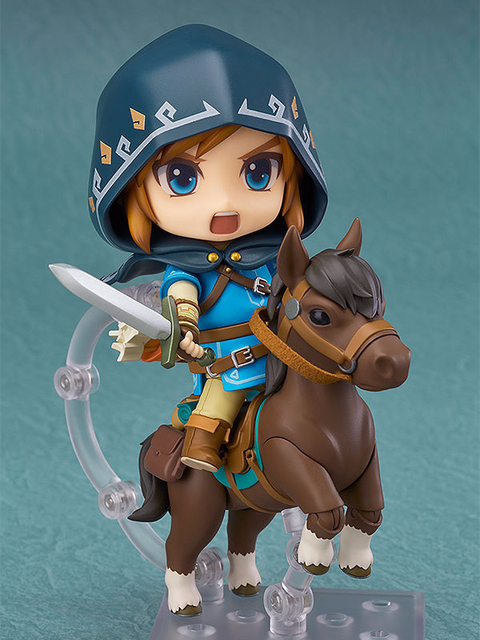 QICSYXJ Birthday Gift The Legend Of Zelda Action Collection 10cm Link Model Breath Wild Movable Toy Figure Decorations
