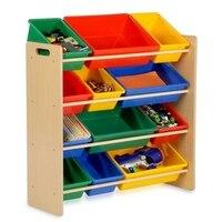 Honey Can Do SRT 01602 Kids Storage Organizer 12 Bins Natural