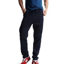 Uwback 2017 Plus Size 4XL New Sweat Pants Men Joggers Pants Elastic Waist Loose Sweat Pants For Men Casual Trousers homme CAA329