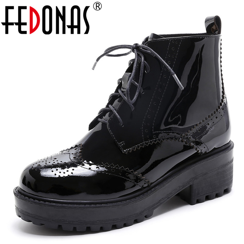 FEDONAS Brand Women Ankle Boots Cow Leather Thick High Heels Ladies Shoes Woman Platforms Motorcycle Boots Female Casual ShoesFEDONAS Brand Women Ankle Boots Cow Leather Thick High Heels Ladies Shoes Woman Platforms Motorcycle Boots Female Casual Shoes