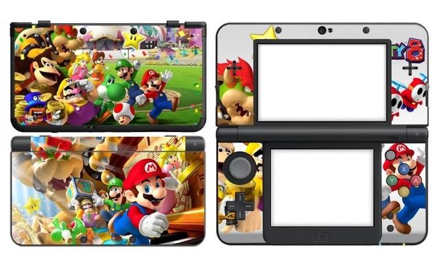 Great 110 Super Mario Party Vinyle Peau Autocollant Protecteur Pour Nintendo New  3DS Peaux Autocollants