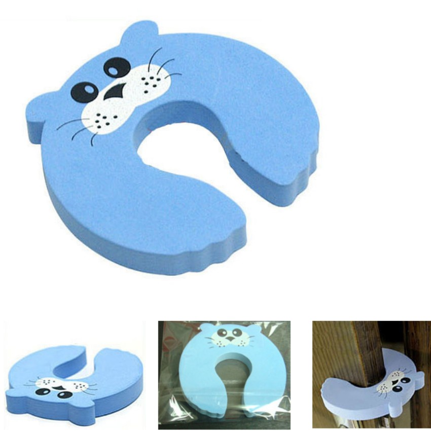 10pcs/lot baby Gates & Doorways keep safe Cartoon security door card 10*10cm