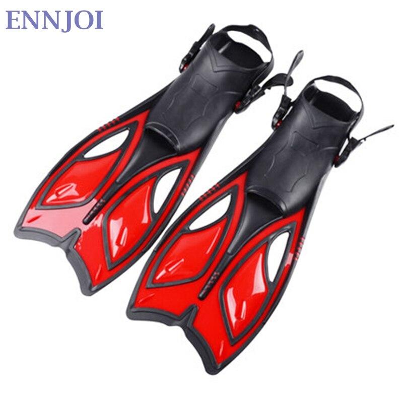 Palmes de plongée équipement de plongée sous-marine palmes TPR chaussures de natation pour hommes femmes formation plongée en apnée palmes