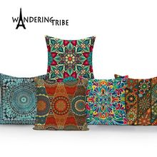 Geometric  cover cushion colorful home cushions Custom morocco decorative pillow Dropshipping