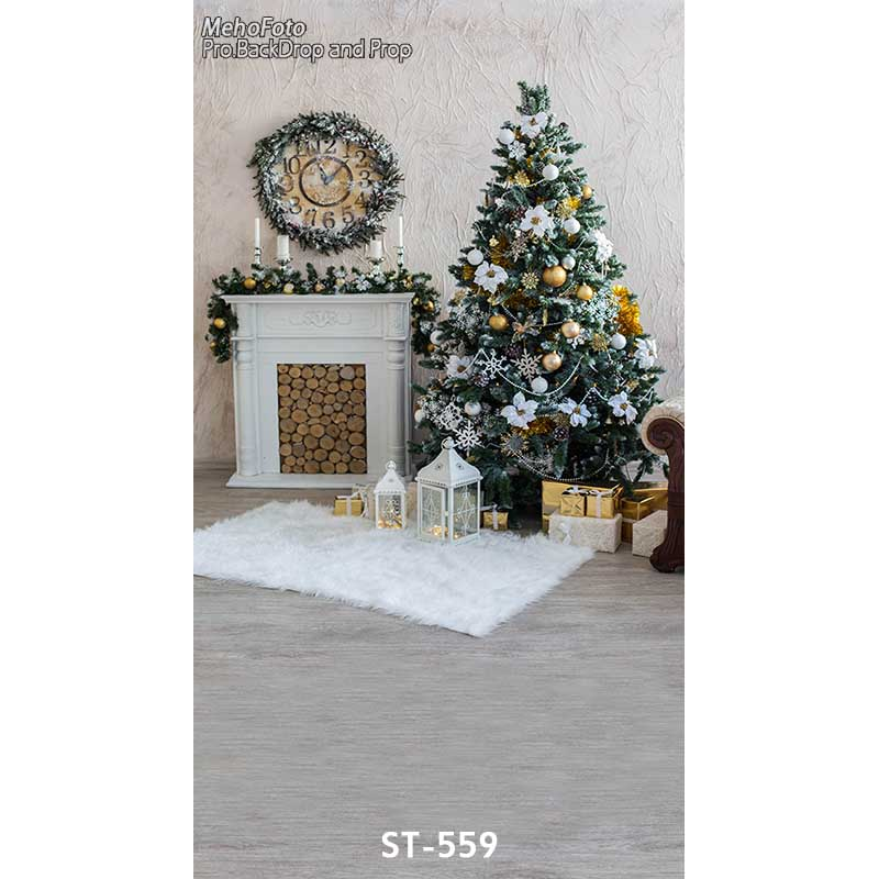 Christmas style Wallpaper Children Baby Photography Backdrops Vinyl Background for Photo Studio Christmas Backdrops ST-559 winter snow christmas village vinyl photography backdrops 12x6ft vinyl cloth children photo studio background for sale l 896