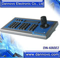 DANNOVO 3D PTZ Keyboard Controller LCD display For CCTV PTZ Camera and Video Conference Camera,RS485,RS422,RS232,Pelco-P/D,VISCA
