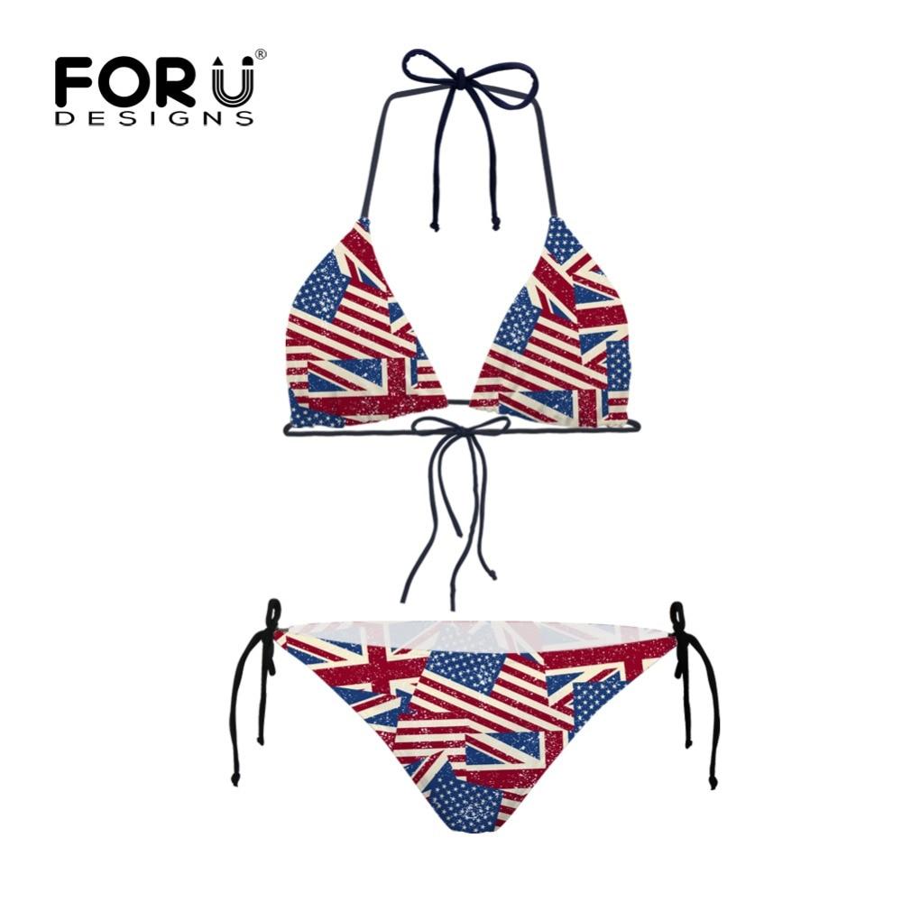 Sports & Entertainment Swimming Womens Large Size American Flag Printed Dress Bikini Beachwear Tankini Dress Swimsuit Female Swimwear Trikini#g4 Attractive Fashion