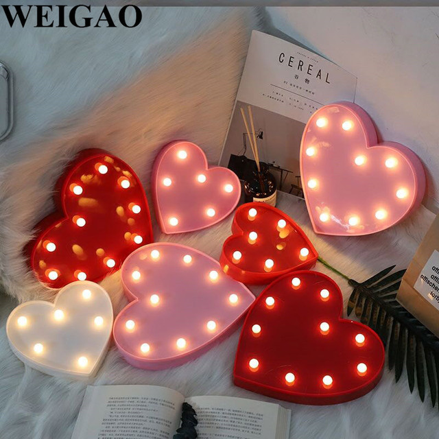 Weigao Led String Lights Led Lights Birthday Party Decoration Adult