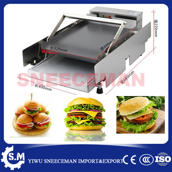 commercial Double deck plate baking machine Hamburger Machine Dryer Charter machine футболка toy machine destroy deck black
