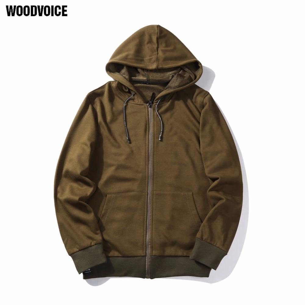 Woodvoice US/Euro Size Military Style Printed Hoodies Men Sweatshirt Army Green Men's Hoodie Male Cotton Hoody casual tops WY05