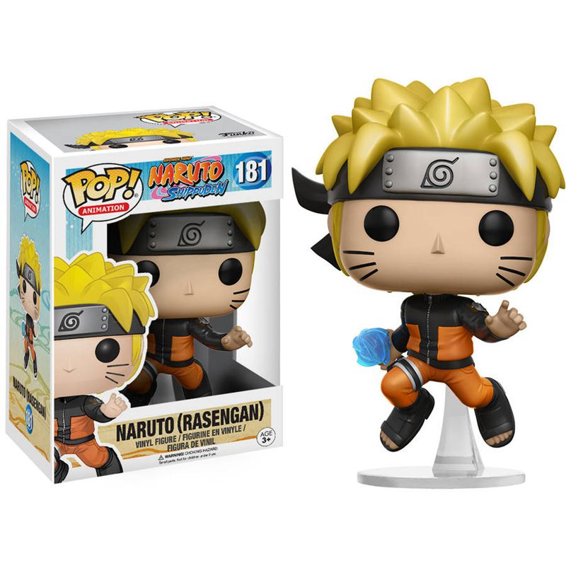 Official Funko <font><b>pop</b></font> <font><b>Anime</b></font> <font><b>Naruto</b></font> Shippuden - <font><b>Naruto</b></font> (Rasengan) Vinyl Action Figure Collectible Model Toy with Original Box