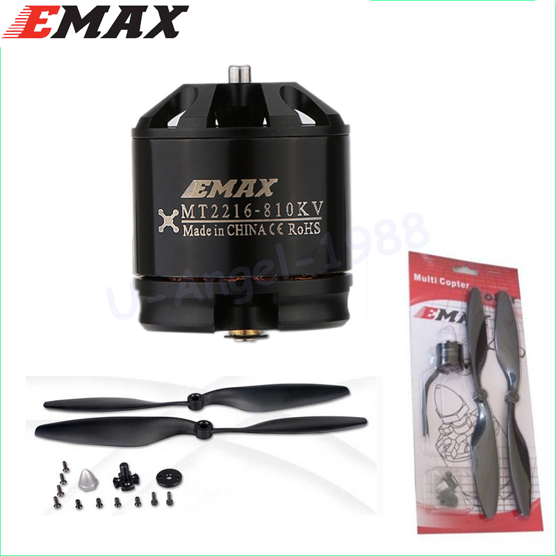 все цены на 4set/lot Original Emax MT2216 810KV plus thread Brushless Motor  2 CW 2 CCW for Multirotor Quadcopters with 1045 propeller онлайн