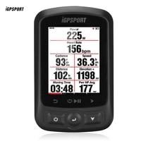 Я gps порт IGS618 Bluetooth Беспроводной gps Водонепроницаемый IPX7 Велоспорт компьютер светодиодный велосипед цифровой секундомер Велоспорт Спидомет