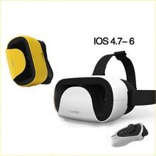 2016ที่มีการควบคุมบลูทูธ+พายุกระจกVRหัวติดแว่นตาเสมือนจริงแว่นตา3Dเกมหมวกกันน็อคVRอุปกรณ์VRแว่นตา