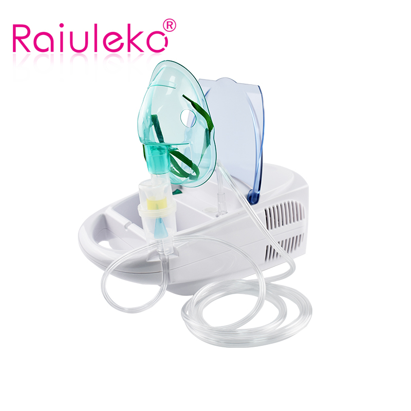 Family Medical Atomization Inhaler Portable Air Compressor Atomizer Medicine Inhale Nebulizer Health Care Asthma Allergy Relief