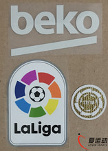 2018-19 Barcelona LFP patch set 17 18 La liga champion patch+ La liga patch + BEKO(China)