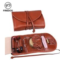 FIREDOG Smoking Pipe Accessories Tobacco Pipe Bag Pouch for 2 Pipe Weed Herb Tool Case