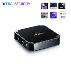 X96 Mini Android 7.1 tv  pudełko 1G + 8G Amlogic S905W czterordzeniowy odtwarzacz multimedialny 4K 2.4G Wifi x96mini dekoder