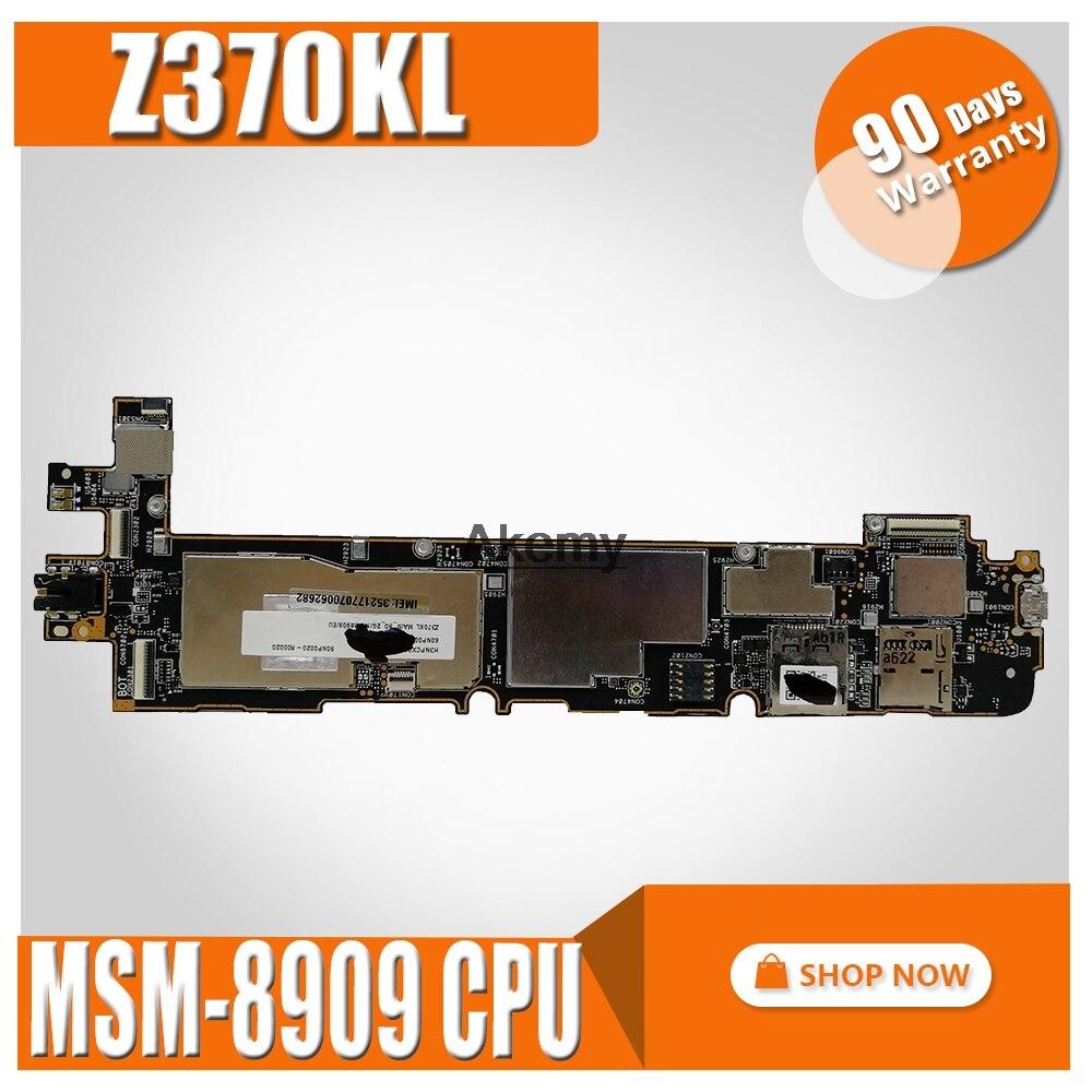 Z370KL Tablet Motherboard  For ASUS ZenPad 7.0  Z370KL  Z370K Test Original Mainboard MSM-8909 CPU  2G RAM