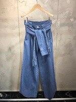 Dressnow 2018 Новинка осени джинсы женские повседневные широкие брюки джинсы Штаны