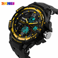 SKMEI Fashion Watch Men G Style Waterproof LED Sports Military Watches Shock Resist Men's Quartz Digital Watch Relogio Masculino