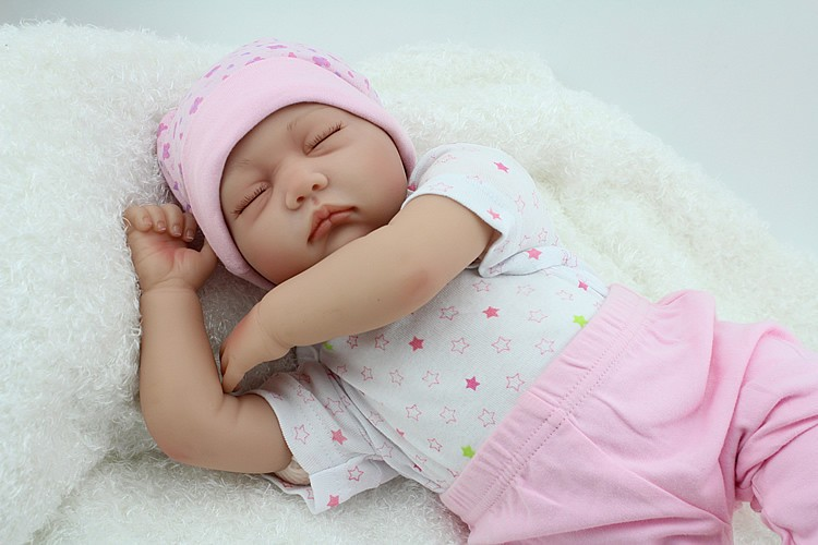 55cm Silicone Reborn Baby Doll Toy Lifelike Handmade Reboen Girl Baby Dolls Play House Birthday Christmas Gifts Girls Brinquedos best quality double sortie 5v 12v 200w switching power supply driver for led strip ac 100 240v input to dc 5v 12v free shipping