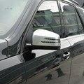 Ml W166 X166 GL GLE ClassFor 2 pcs ABS Chrome retrovisor guarnição tampa espelho faixa de proteção acessórios de decoração do carro