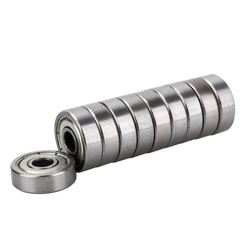 Lowest price 10 x miniature rubber sealed metal shielded metric radial ball bearing model.jpg 250x250