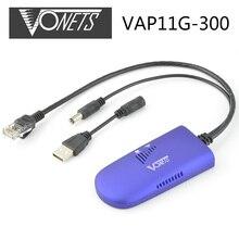 [ Подлинный ] Vonets VAP11G-300 RJ45 мини-wifi мост беспроводной мост Wifi репитер для DMBox Openbox камеры тв-адаптер wi-fi