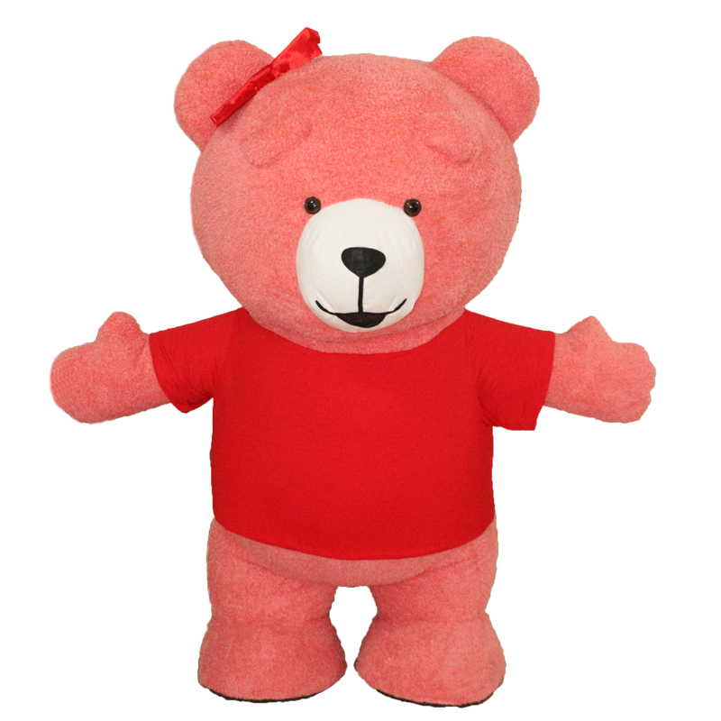 Newest 2.6M 3M Inflatable Teddy Bear Costume For Advertising Customize Teddy Bear Mascot Costume Halloween Costume For Adult