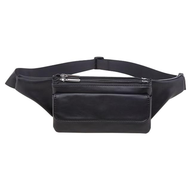 Novo Design PU Couro Pacote de Cintura Viagem Sacos de Homens Design Com Zíper Saco Da Cintura Das Mulheres Cinto