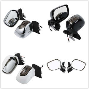 Mirrors GL1800 Motorcycle Rear-View Led-Turn-Signals Honda for F6B