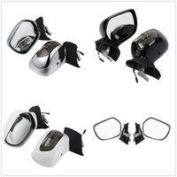 Rear View Mirrors Smoke Lens LED Turn Signals For Honda Goldwing 1800 F6B 13 17