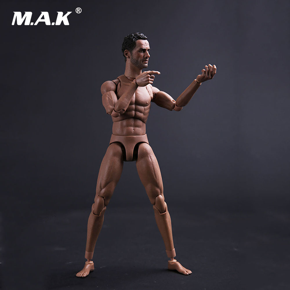 Collectible Model font b Toys b font 1 6 Scale Walking Dead 2 0 Male Narrow