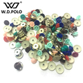 W.D.POLO Colored ABS round stud bag parts bag button DIY patchwork handbags accessory simple and chic design hot selling M2335