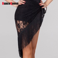 Ladies Latin Dance Skirts Tassel Accessories Triangular Bandage Cha Cha/Rumba/Samba/Latin Dance Skirts Dresses Dancewear