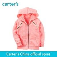 Carters 1 stücke baby kinder kinder Neon Französisch Terry Zip-Up Hoodie 253G982, verkauft durch carters China offiziellen shop