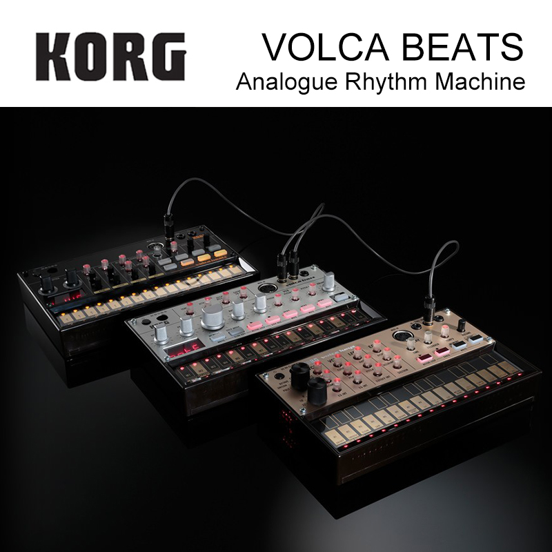 Korg Volca Beats Analog Rhythm Machine Electribe-style Sequencer Peerless Beats Generated By Solid Analog Drum Sounds Guitar Parts & Accessories