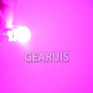 Image 5 - 100x brilhante t10 cob led 40ma silicone caso instrumento luz da placa de licença lâmpadas cunha lâmpada estilo do carro led 12 v branco 7 cores