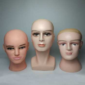 Fashion Head Mannequin Wig Model Head Goggles Display Safety Cap Dust Protective Mask Display